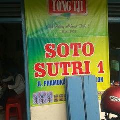 Photo taken at Soto Sutri by Wahied Dablongan N. on 1/16/2014
