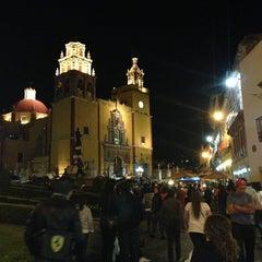 Photo taken at Basílica Colegiata de Nuestra Señora de Guanajuato by Gerardo V. on 3/18/2013