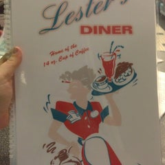 Photo taken at Lester's Diner by Peter B. on 1/20/2013