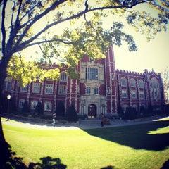 Photo taken at University of Oklahoma by University of Oklahoma on 10/8/2012