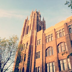 Photo taken at Marquette University by Father M. on 5/10/2013