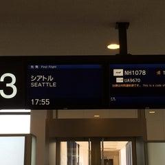 Photo taken at NRT - GATE 53 (Terminal 1) by Masaru O. on 4/27/2014