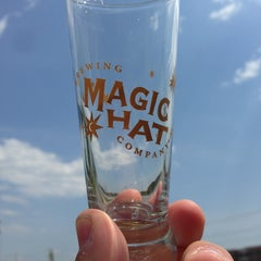 Photo taken at Magic Hat Brewing Company by Jake B. on 6/1/2013