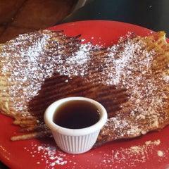 Photo taken at Rockn' Joe Coffeehouse & Bistro by Nikki P. on 9/28/2013