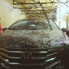 Photo taken at Miracle Car Wash by Kathleen G. on 6/25/2014