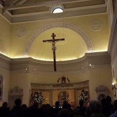 Photo taken at Iglesia de la Veracruz by Mauricio P. on 3/30/2014