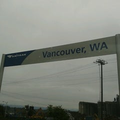 Photo taken at Vancouver Amtrak Station (VAN) by Sarah S. on 10/26/2013