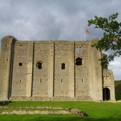 Photo taken at Castle Rising Castle by Chelle G. on 9/29/2012