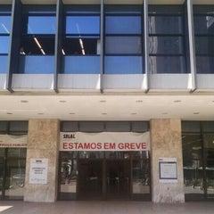 Photo taken at Banco Central do Brasil (BACEN) by Luiz K. on 8/31/2015