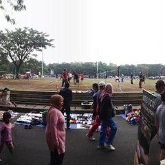 Photo taken at Lapangan Tegalega by Gummy S. on 5/2/2015