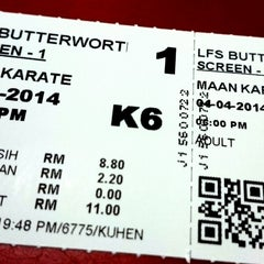 Photo taken at Lotus Five Star Cinemas (LFS) by Jagen M. on 4/4/2014