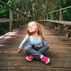Photo taken at Spanish Pond at the Timucuan Preserve by John S. on 1/25/2014
