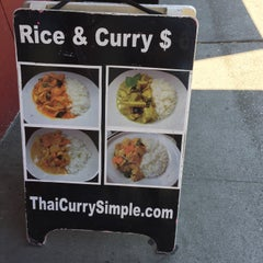 Photo taken at Thai Curry Simple by Matt K. on 8/10/2015