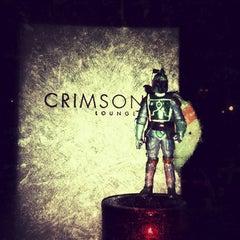 Photo taken at Crimson Lounge by Rey G. on 7/21/2013