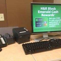Photo taken at H&R Block by Cheyenne C. on 1/3/2013