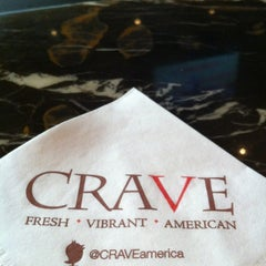 Photo taken at CRAVE Restaurant Galleria by Tim B. on 7/12/2013