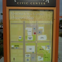 Photo taken at City of Fontana Civic Center by Brigette on 12/11/2014