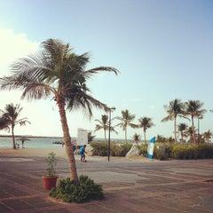 Photo taken at Al Mamzar Park (حديقة الممزر) by Serg P. on 12/27/2012