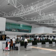 Photo taken at Sultan Aji Muhammad Sulaiman Sepinggan Balikpapan International Airport (BPN) by Harry A. on 9/26/2014
