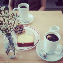 Photo taken at The Cafe at Cakes & Ale by Soyul Bia K. on 6/25/2013