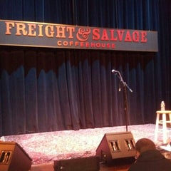 Photo taken at Freight & Salvage Coffeehouse by Rachel G. on 1/24/2013