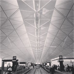 Photo taken at Hong Kong International Airport 香港國際機場 (HKG) by haseppi on 10/23/2013