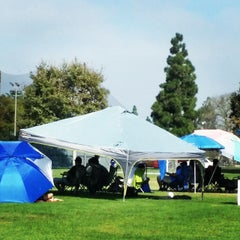 Photo taken at Fountain Valley Sports Complex by Sarah N. on 8/30/2014