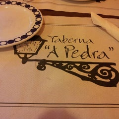 Photo taken at Taberna A Pedra by Angel R. on 12/8/2012