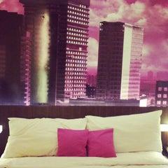 Photo taken at favehotel MEX Surabaya by Ratna D. on 2/23/2015