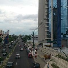 Photo taken at Avenida Djalma Batista by Bruno D. on 2/21/2013