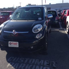 Photo taken at Criswell FIAT of Gaithersburg by Laurie L. on 12/27/2014