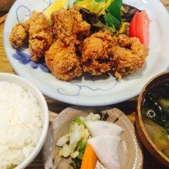 Photo taken at キッチン米一 by ぜんぺ(  ˙࿁˙ )ᐝ on 9/12/2015