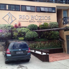 Photo taken at Hotel Rio Búzios Beach by Ivalmir Silvio C. on 12/15/2012