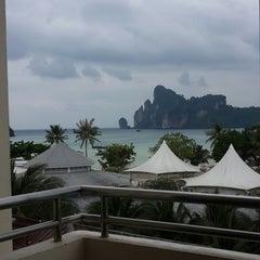 Photo taken at Phi Phi Hotel by Carolina P. on 12/18/2014