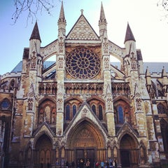 Photo taken at Westminster Abbey by Lucy on 3/5/2013