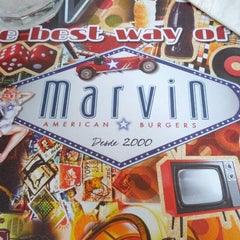 Photo taken at Marvin American Burgers by Rafael L. on 12/1/2012