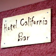 Photo taken at Hotel California by Eduardo S. on 12/30/2012