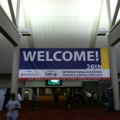 Photo taken at Georgia World Congress Center (GWCC) by Mark C. on 10/2/2012