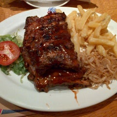 Photo taken at Spur Steak Ranches by Masek K. on 6/6/2013
