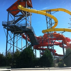 Photo taken at Hawaiian Falls by Joe S. on 3/5/2013