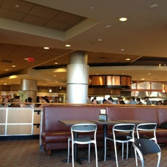 Photo taken at Boston University West Campus Dining Hall by David L. on 4/6/2013