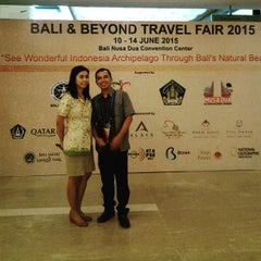 Photo taken at Bali Nusa Dua Convention Center (BNDCC) by Baliplus M. on 6/12/2015