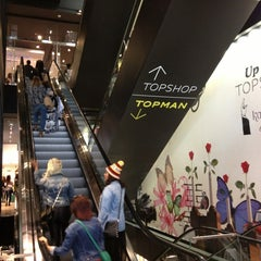 Photo taken at Topshop by Chas P. on 4/20/2013