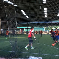 Photo taken at Futsal Masterscaff by Syed Sadiq on 1/6/2016