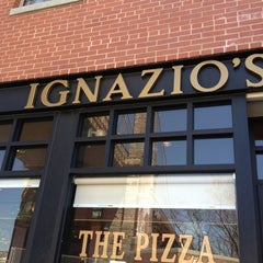 Photo taken at Ignazio's Pizza by Mark R. on 4/5/2013