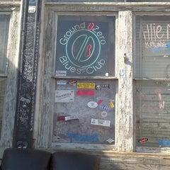 Photo taken at Ground Zero Blues Club by Patsy B. on 2/17/2013