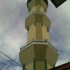 Photo taken at Masjid Agung Baitussalam by Rudy P. on 7/15/2013