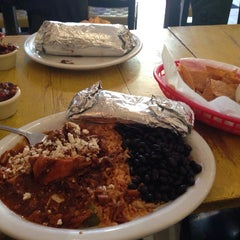 Photo taken at Cancun Taqueria by Kate M. on 9/9/2013