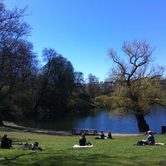 Photo taken at Ørstedsparken by Louise H. on 5/3/2013