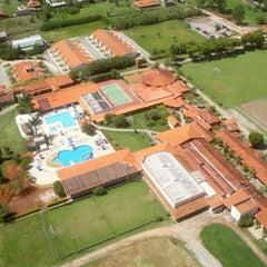 Photo taken at Hotel Fazenda Hípica Atibaia by Rodrigo A. on 12/8/2012